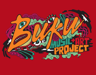 BUKU Music+Art Project Shirt Design