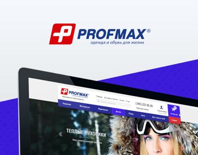 Website Profmax (sportmaxi)