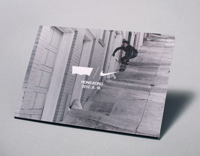 Levis® x Nike SB Invitation & Sticker
