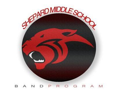 Shepard Middle School Band Logo