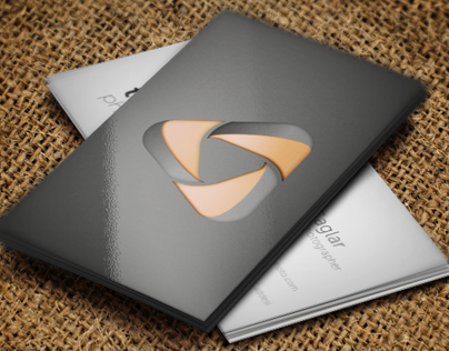 Triangle Photography business card
