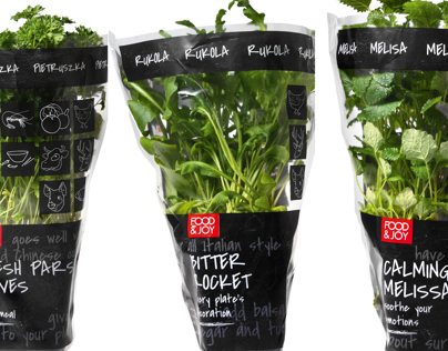Food&Joy/package design/herbs