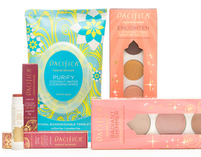 Pacifica Beauty Packaging