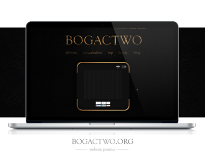 Bogactwo - website & blog design