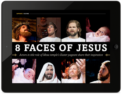 8 faces of Jesus