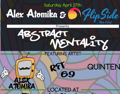 Abstract Mentality Art Show & Skate Event
