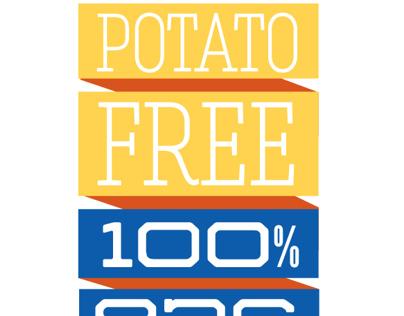 100% Potato Free