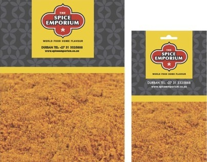 Spice Emporium Packaging Re-design