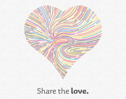 Share the Love poster set