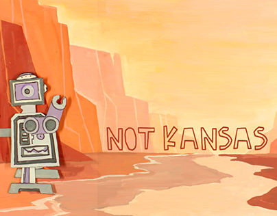 Not Kansas: A Cutout Animation