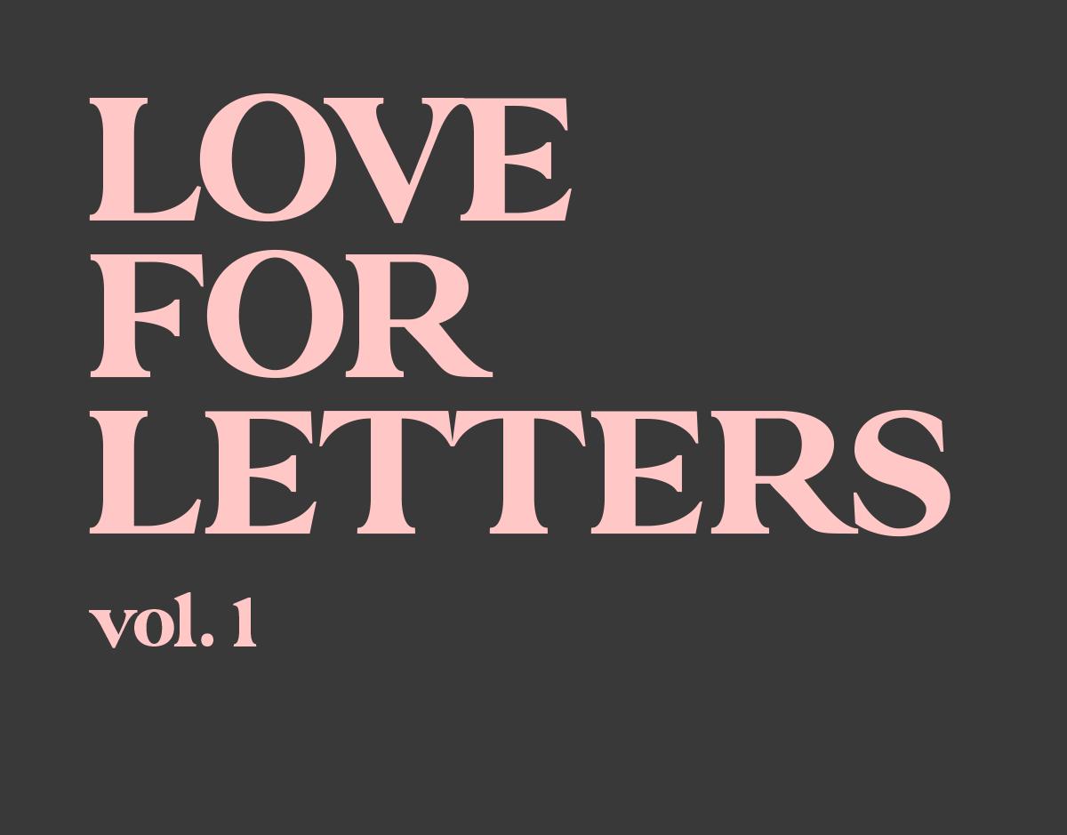 Lettering / Type / Logos