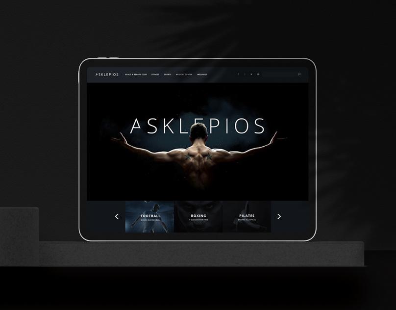 Asklepios psd Theme
