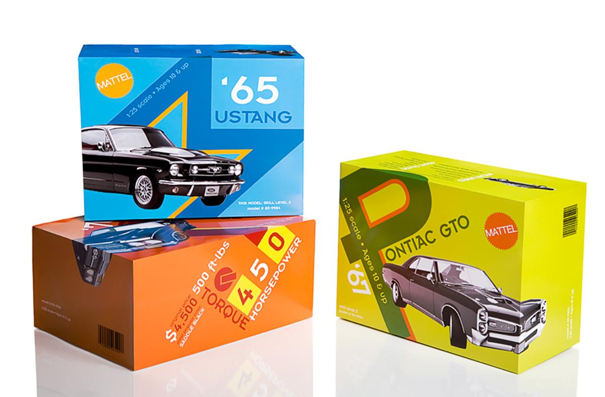 Mattel Muscle Model Cars