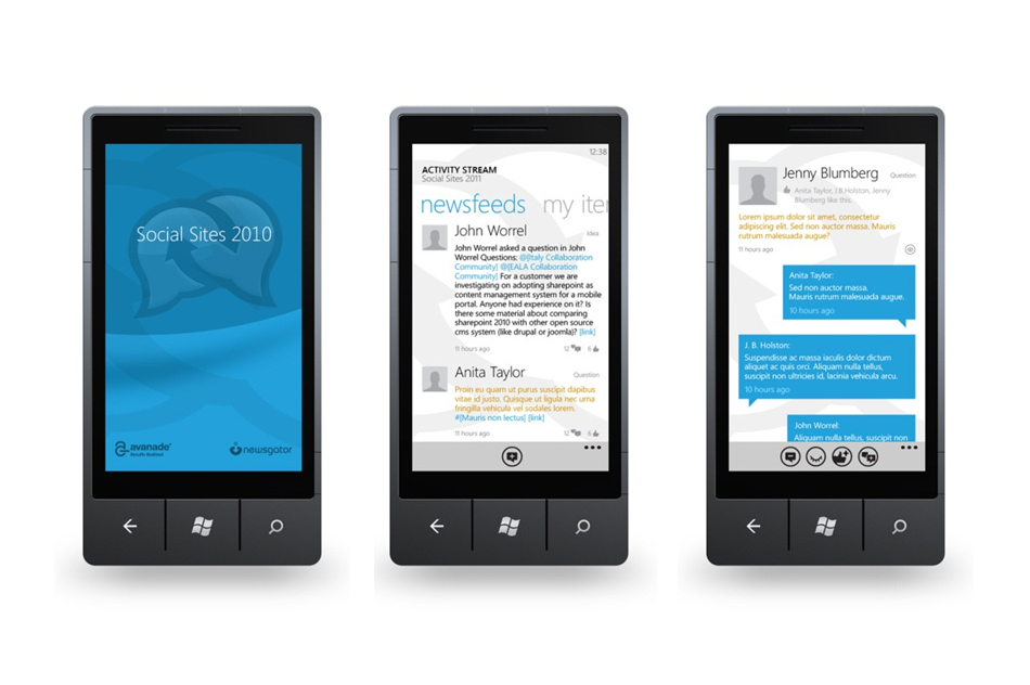 Avanade - Windows Phone Apps