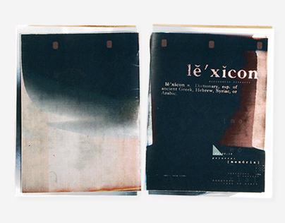 Lexicon_                         fanzine