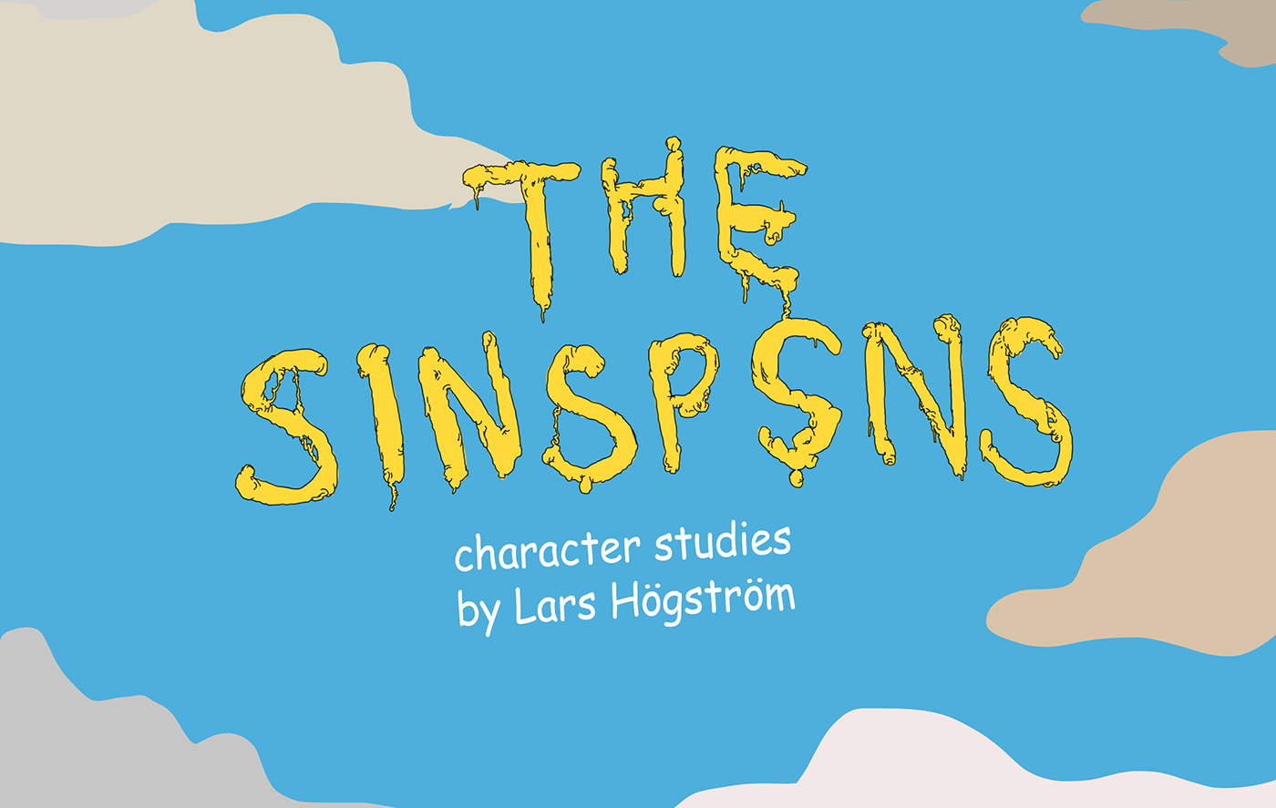 The Simpsons - Character Studies