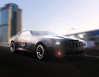 Restyled Chevrolet Camaro ss 2014
