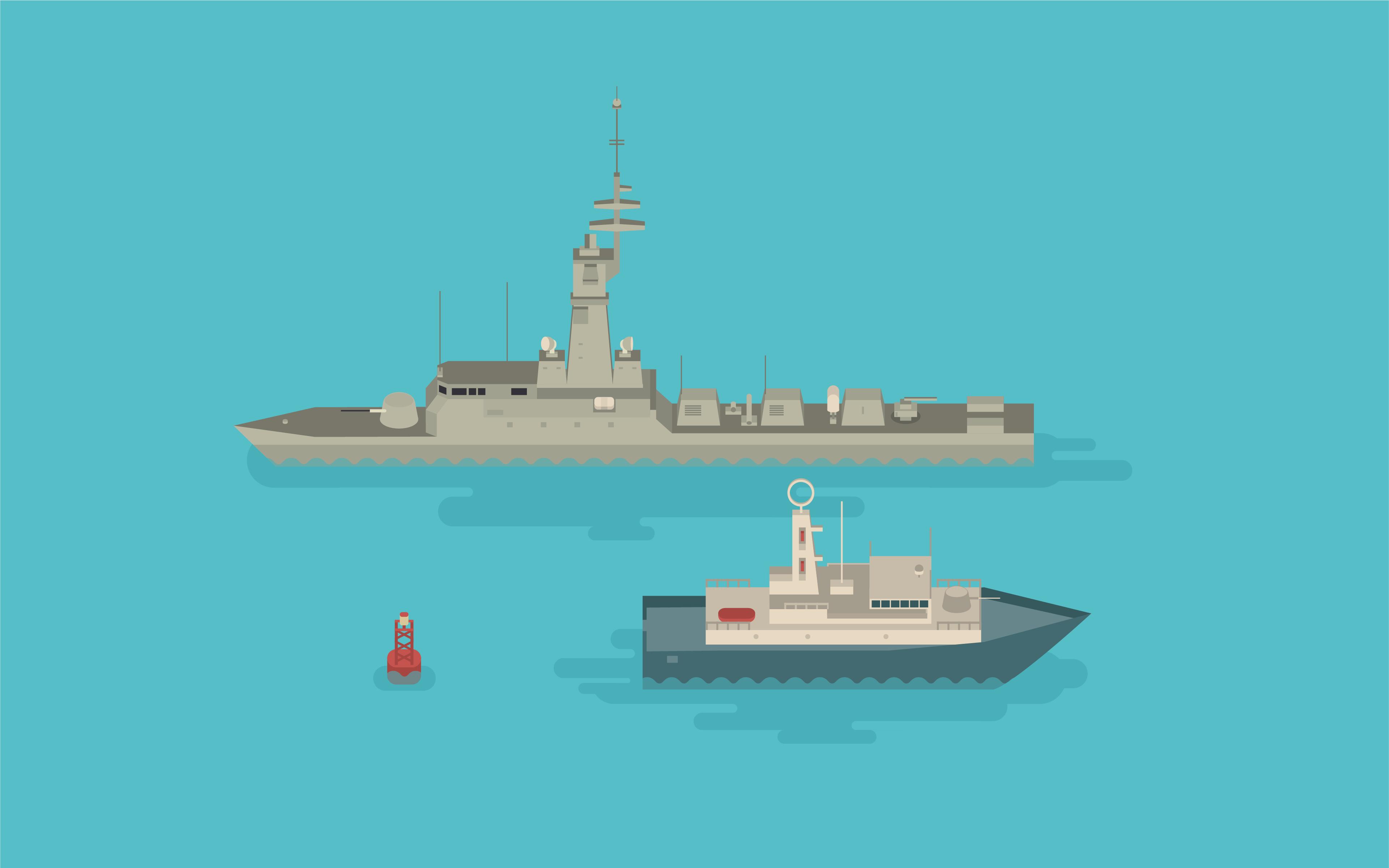 The Flotilla – Illustration