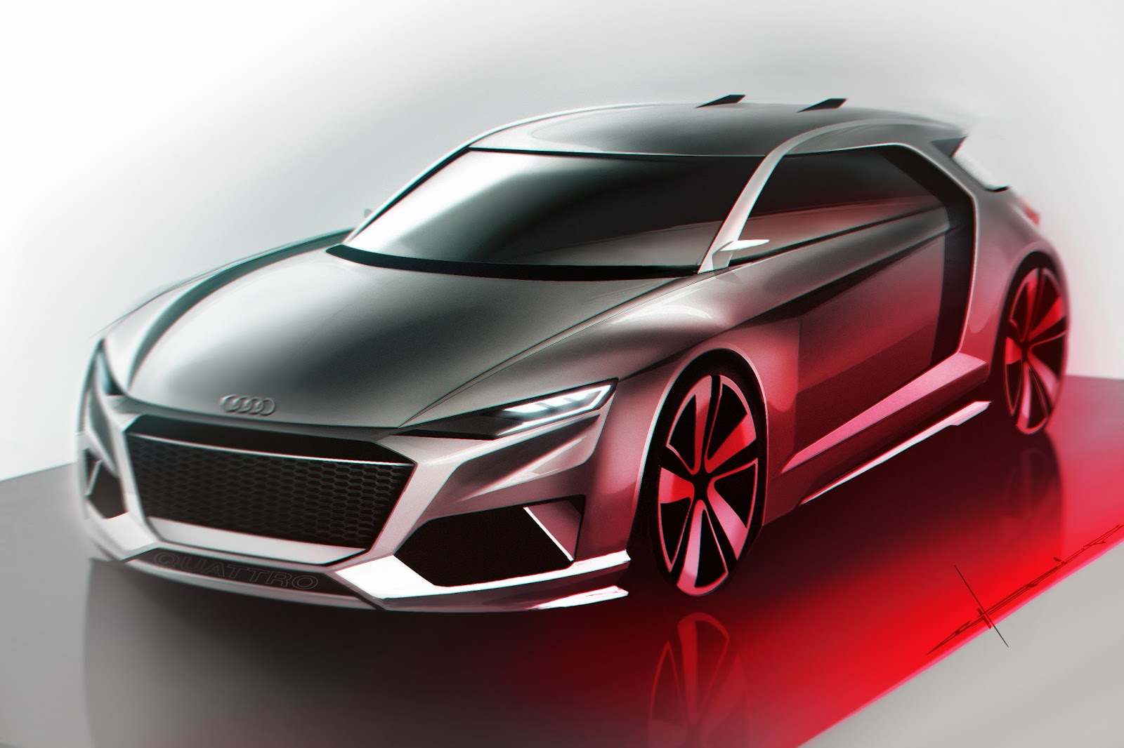 free automotive sketch