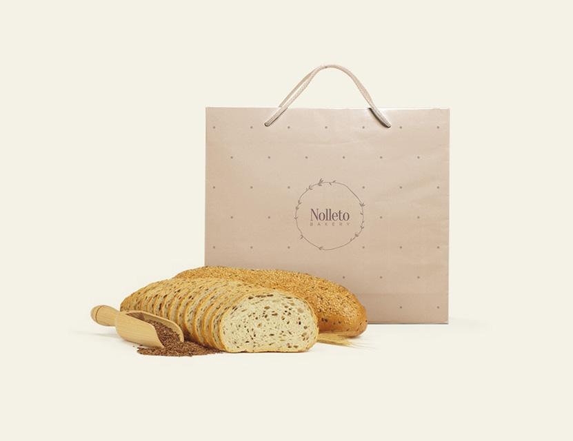 Nolleto Bakery. Identity