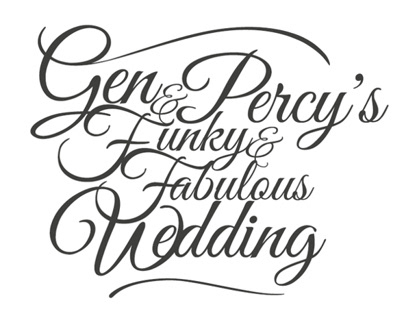 Logo mark (Gen and Percys Wedding)