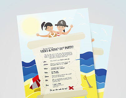 Pirate and Beach Party