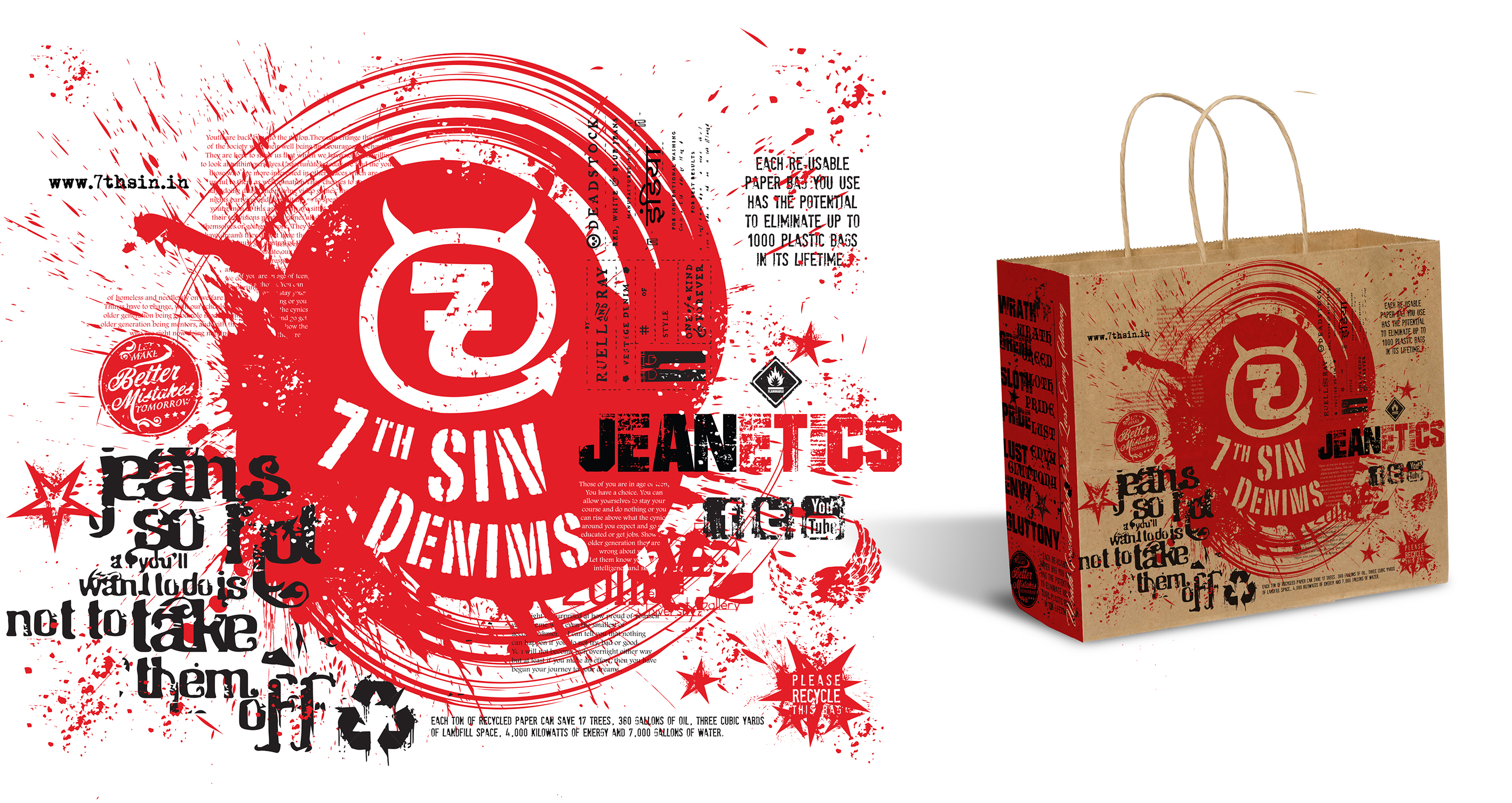7th SIN Denims