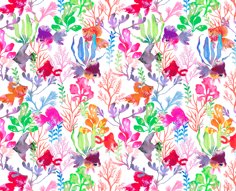Creative print pattern design