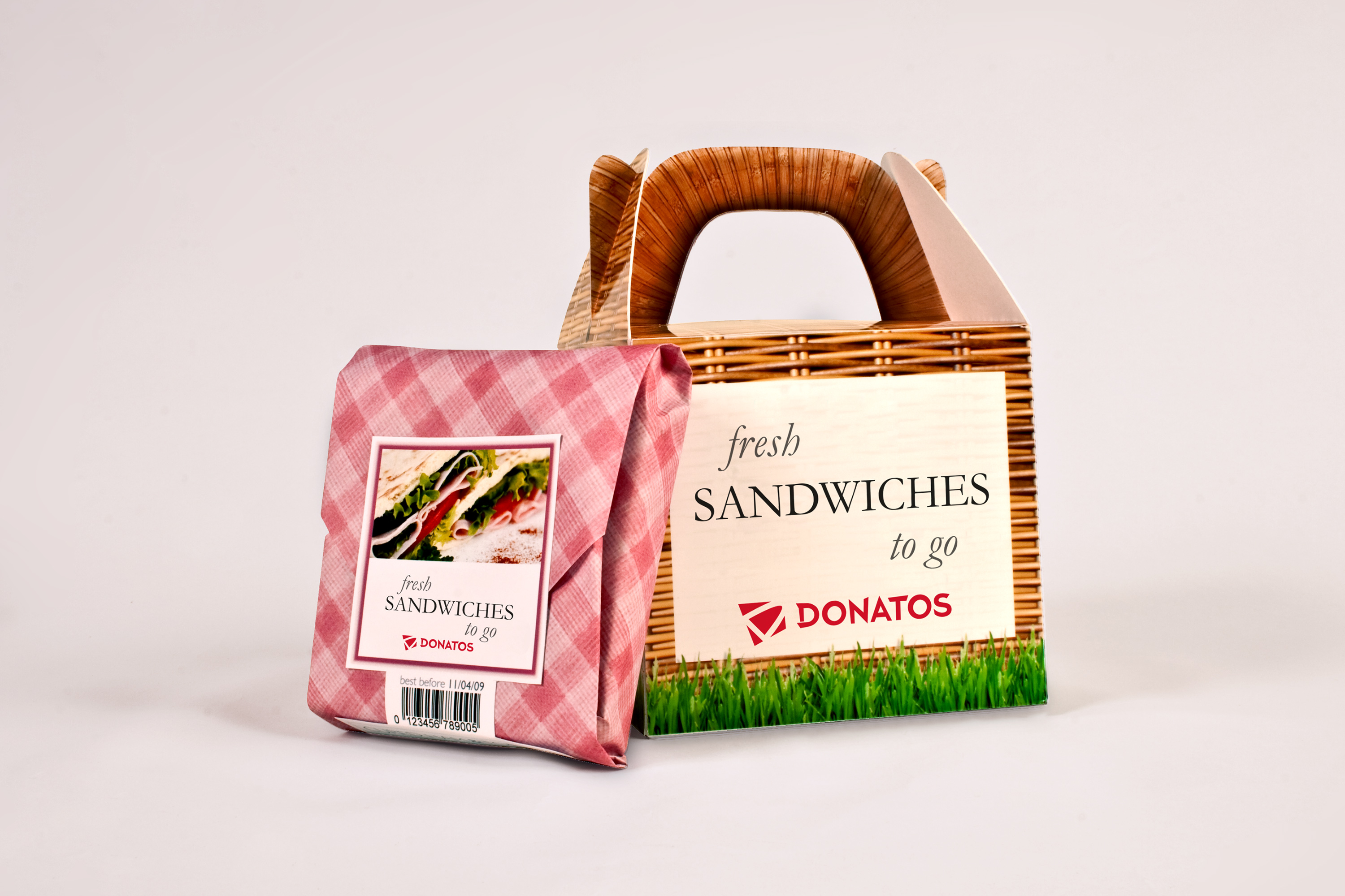 Donatos Sandwich Packaging