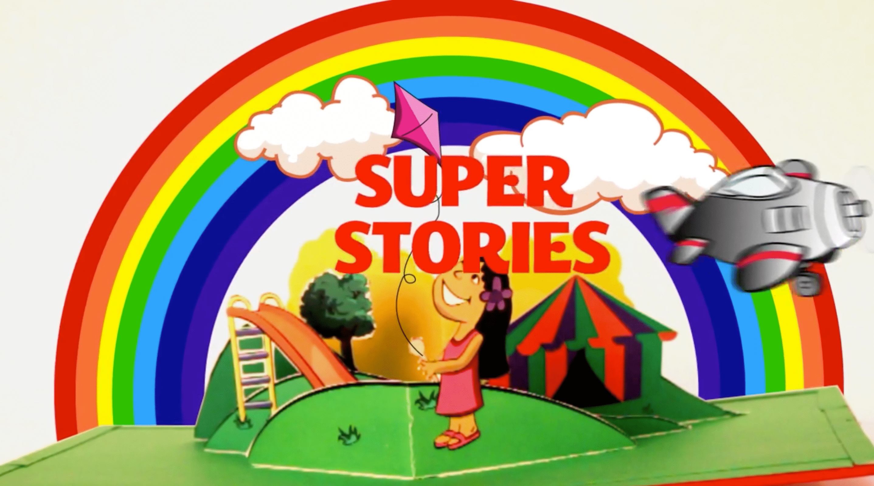 Super Stories - Pop-up book comes to life!