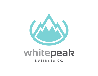 White Peak Logo
