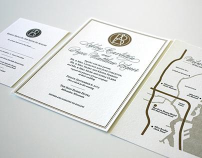 Wedding Logo & Invitations