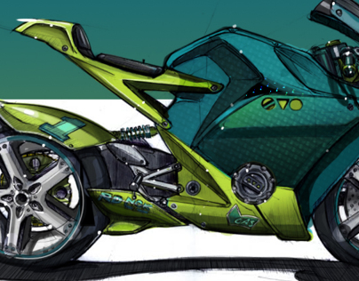 Moto Car coloring