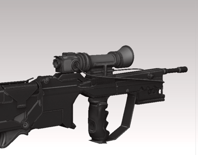 SciFi Rifle Prototype