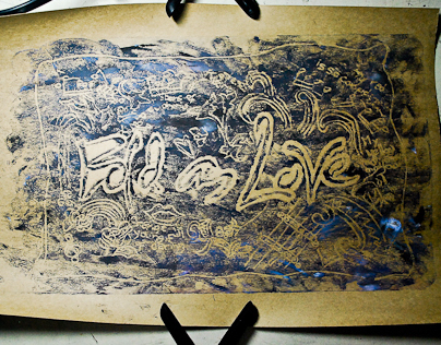 Bold as Love (Block Print)