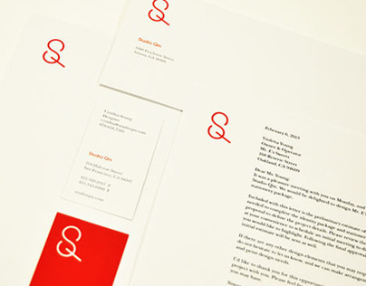 Studio Qin Identity & Stationery