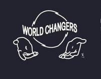 World Changer T-Shirt Design