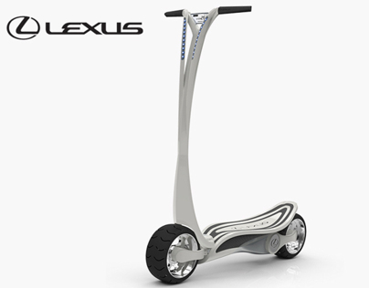 Lexus CT-S EV Scooter