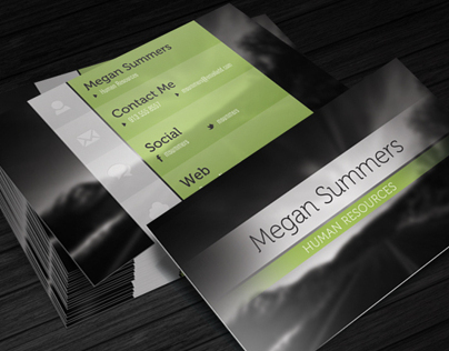 Simple Scene - Free Business Card