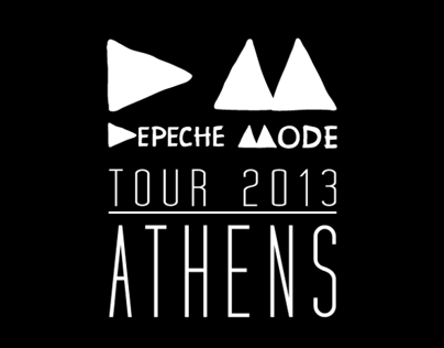 Depeche Mode Live in Athens 2013 Tour