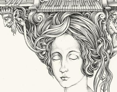 Ferocious Holyman illustrations (Part 1)