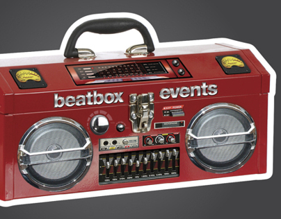 Beatbox Events Business Card