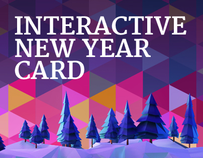 Interactive New Year Card