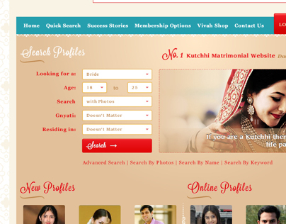 Asonjo Kutch - Matrimony Website