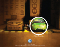 VW New Beetle Ads