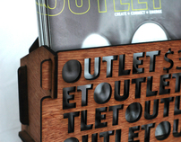 Outlet Magazine Stand