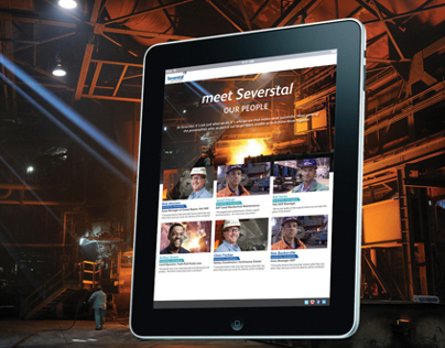 Meet Severstal mini-site