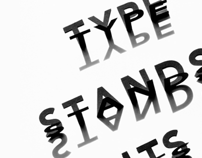 Type Stands on its Own