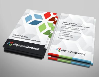 digitalrelevance™ | brand identity