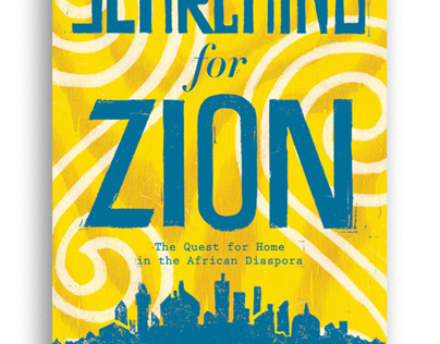 Searching for Zion Book Jacket & Process